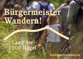 BürgermeisterWandern am 7. April 2019